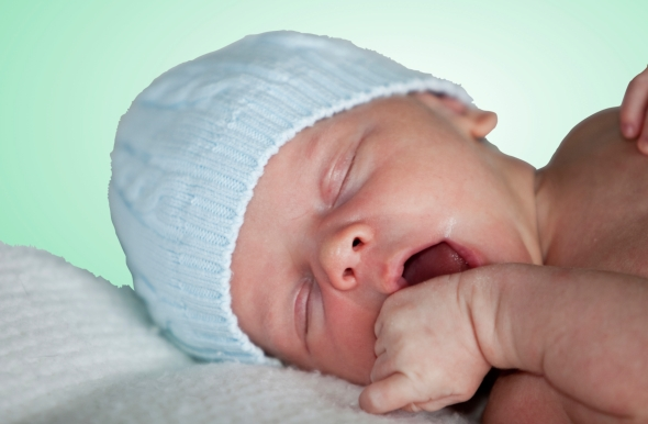 Newborn Rooting