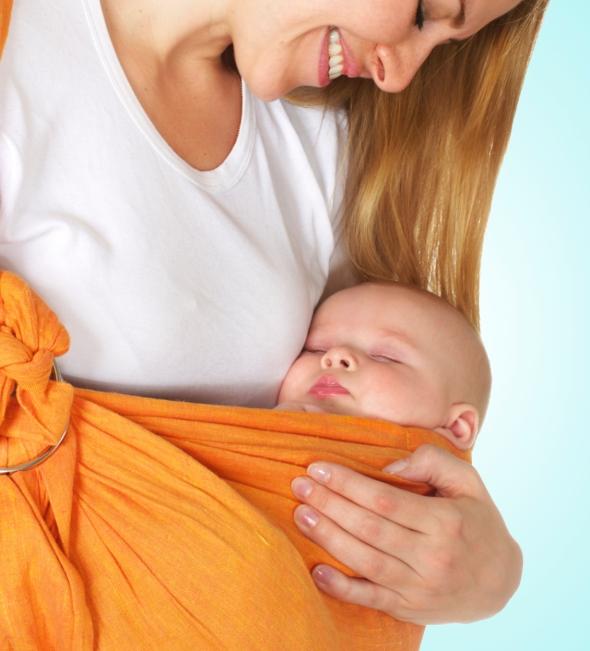 newborn baby wearing