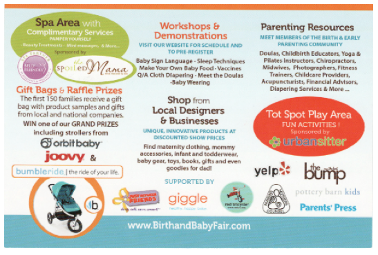 Birth & Baby Fair2 2013