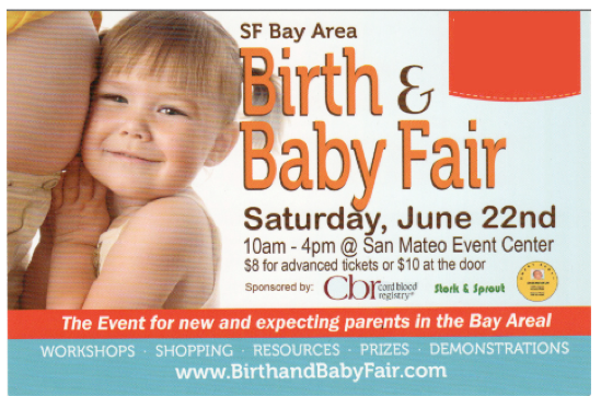 SF Birth & Baby Fair 2013