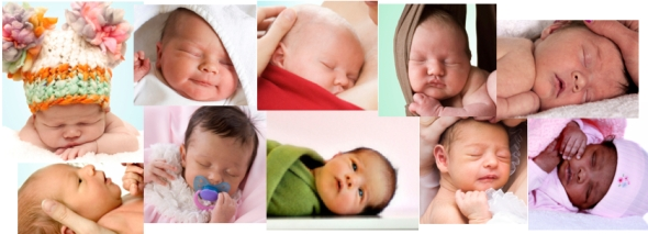 BABIES OF MIXED RACES COLLAGE Keynote jpeg72px